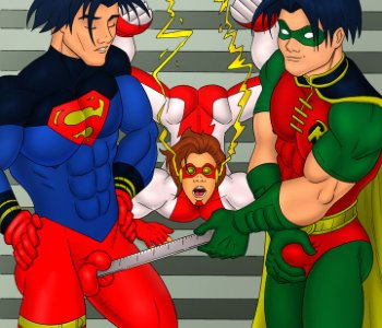 teen titans characters naked